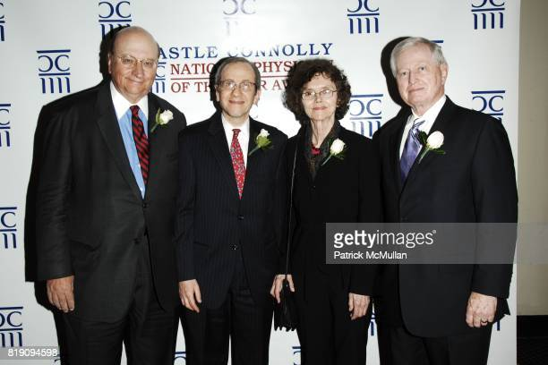 John K. Castle, Dr. William Liss-Levinson, Dr. Jean Morgan and Dr. John J. Connolly attend CASTLE CONNOLLY Medical Ltd. 5th Annual National Physician...