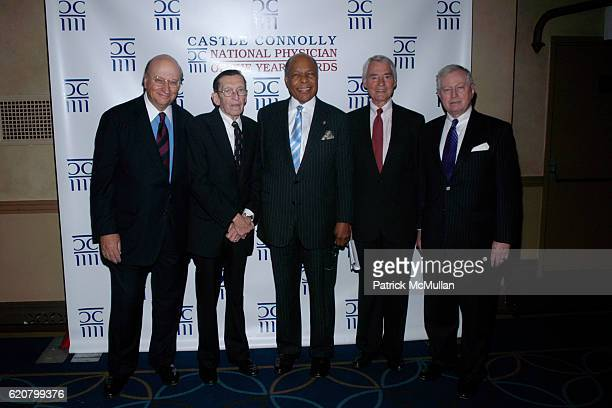 John K. Castle, Dr.Arthur Hayes, Dr.Louis Sullivan, Dr.Ronald Pion and Dr.John Connolly attend 3rd Annual NATIONAL PHYSICIAN OF THE YEAR AWARDS...