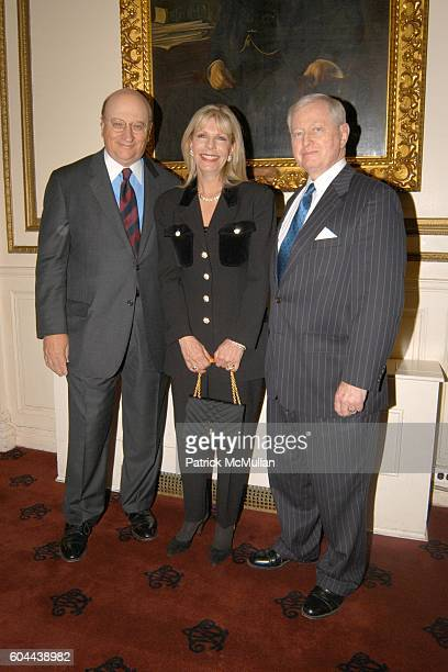 John K. Castle, Princess Yasmin Aga Khan and Dr. John J. Connolly attend The First Annual National Physician of the Year Awards at Metropolitan Club...