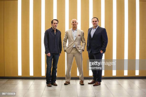 John Kaden chief investment officer of Navy Capital LLC from left Kevin Gahwyler president and chief financial officer of Navy Capital LLC and Sean...