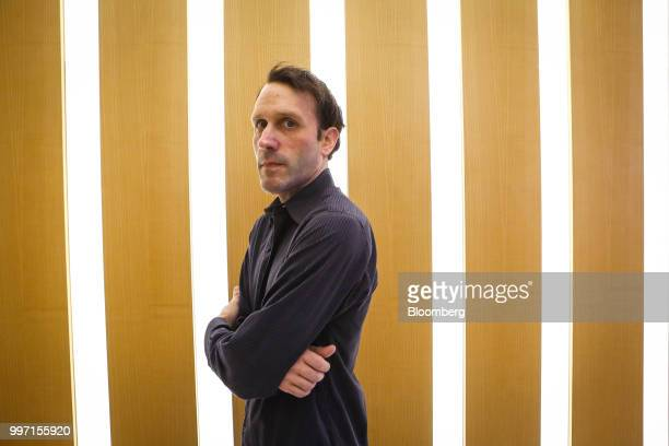 John Kaden chief investment officer of Navy Capital LLC stands for a photograph at the company's office in New York US on Tuesday July 10 2018 As...