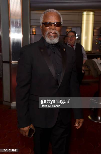John Kani attends The WhatsOnStage Awards 2020 at The Prince of Wales Theatre on March 1 2020 in London England