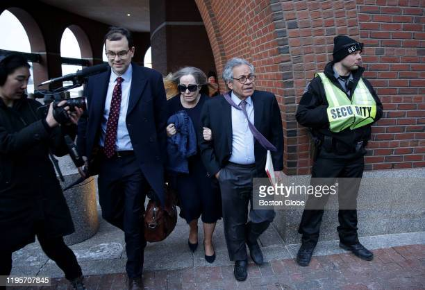 John Kapoor, the founder of Insys Therapeutics, leaves the John Joseph Moakley United States Courthouse in Boston on Jan. 23, 2020 after receiving a...