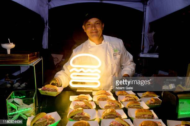 John Karangis of Shake Shack attends the Blue Moon Burger Bash presented by Pat LaFrieda Meats hosted by Rachael Ray at Pier 97 on October 11, 2019...