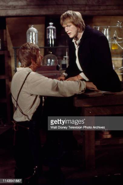 John Karlen Bo Svenson as the Frankenstein Monster appearing in the Walt Disney Television via Getty Images tv series 'The Wide World of Mystery'...