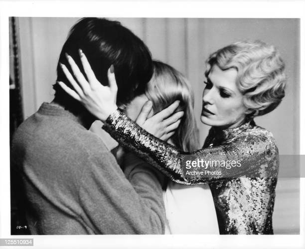 John Karlen is forced to kiss Daniele Ouimet in a scene from the film 'Daughters Of Darkness' 1971