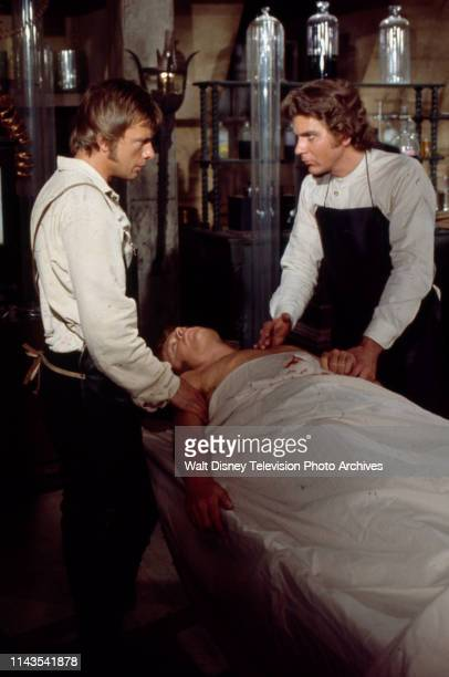 John Karlen Robert Foxworth as Doctor Frankenstein appearing in the Walt Disney Television via Getty Images tv series 'The Wide World of Mystery'...