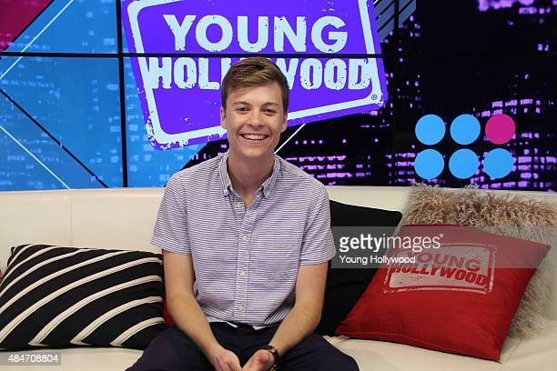John Karna visits the Young Hollywood Studio on August 11 2015 in Los Angeles California