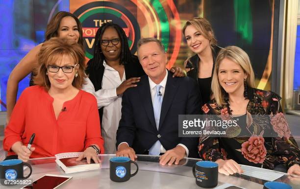 THE VIEW John Kasich and Kelly Osbourne are the guests Tuesday April 25 2017 on Walt Disney Television via Getty Images's The View The View airs...