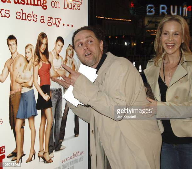 """John Kassir and Julie Benz during DreamWorks' """"She's the Man"""" Los Angeles Premiere - Red Carpet at Mann's Village in Westwood, California, United..."""