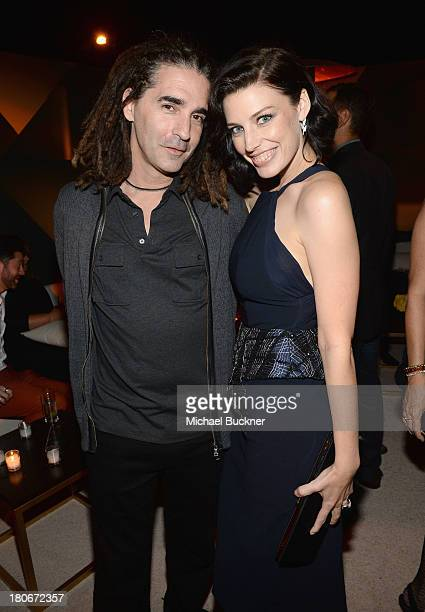 John Kastner and Jessica Paré attend the Audi and Altuzarra KickOff Emmys Week 2013 event at Ceconni's on September 15 2013 in West Hollywood...
