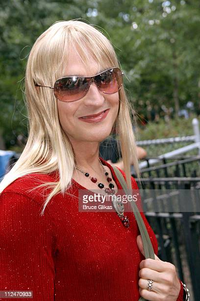 John Kelly as Joni Mitchell during Wigstock Festival 2005 at Tompkins Square Park in New York City, New York, United States.
