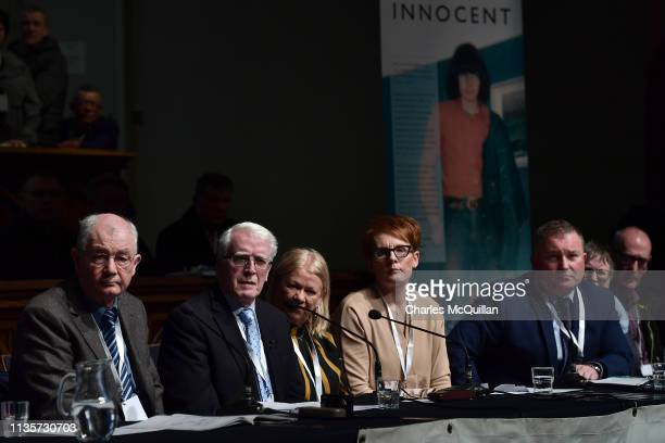John Kelly whose brother Michael died during Bloody Sunday during a press conference in reaction to today's Bloody Sunday prosecution announcement on...