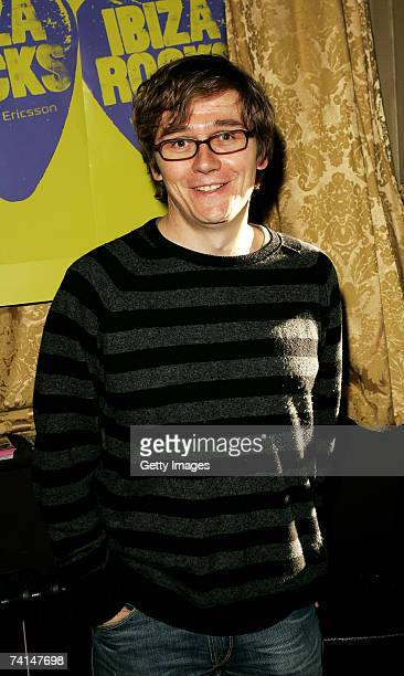 John Kennedy arrives at the Ibiza Rocks with Sony Ericsson launch party at The Lock Tavern Camden on May 14 2007 in London England The music event is...