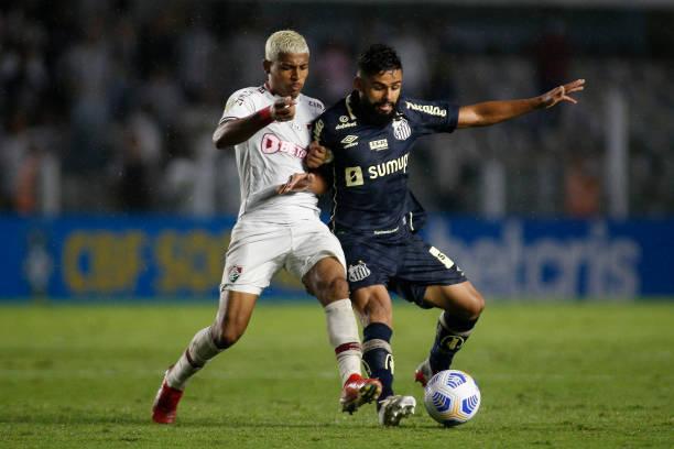 BRA: Santos v Fluminense - Brasileirao 2021