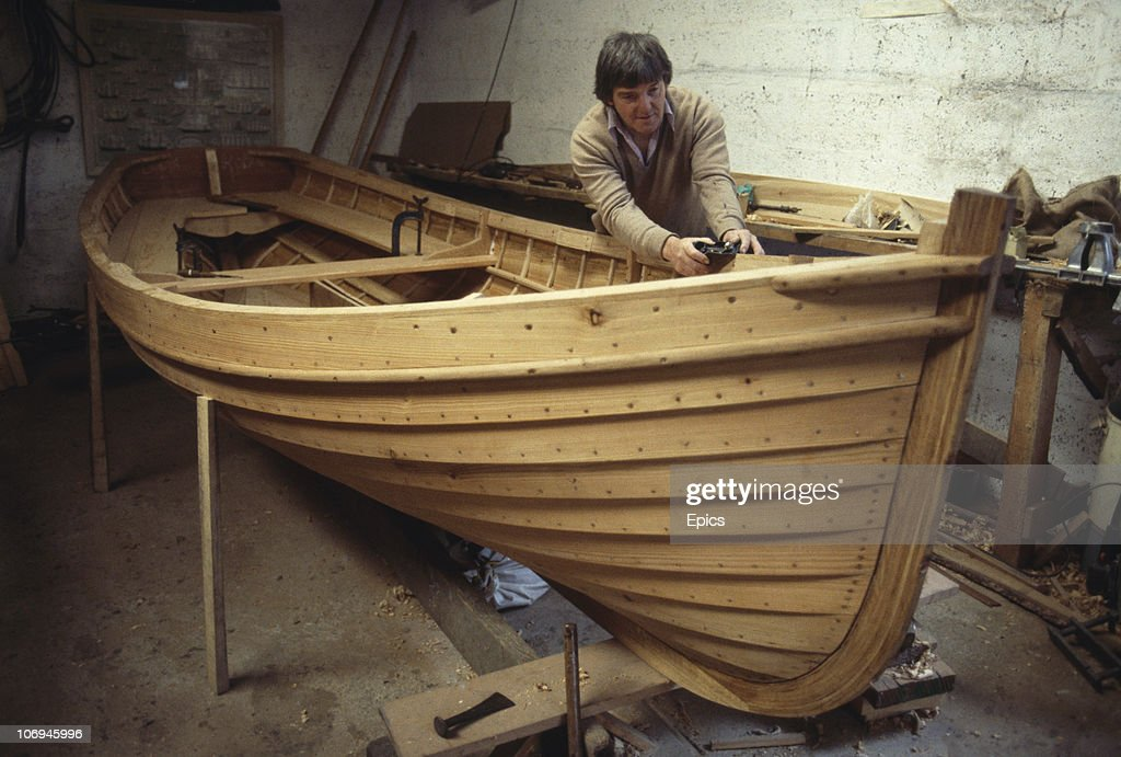 John Kerr Who Is Building Wooden Boats The Traditional Way In His