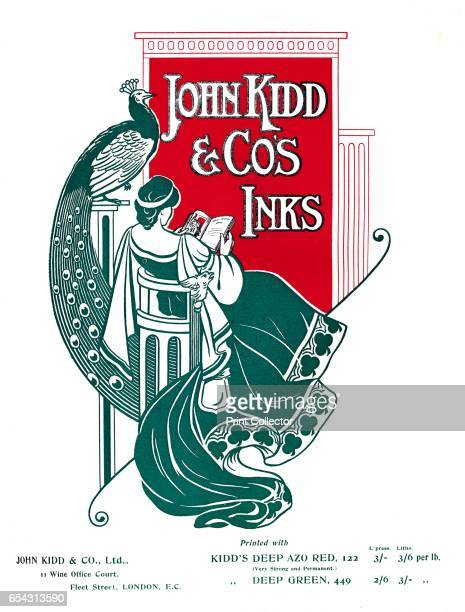 John Kidd Cos Inks advert 1907 Printed with John Kidd Cos inks From The British Printer Vol XX [Raithby Lawrence Co Ltd London and Leicester 1907]...