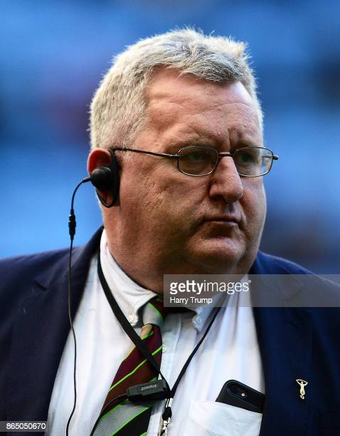 John Kingston Director of Rugby of Harlequins during the European Rugby Champions Cup match between Wasps and Harlequins at the Ricoh Arena on...