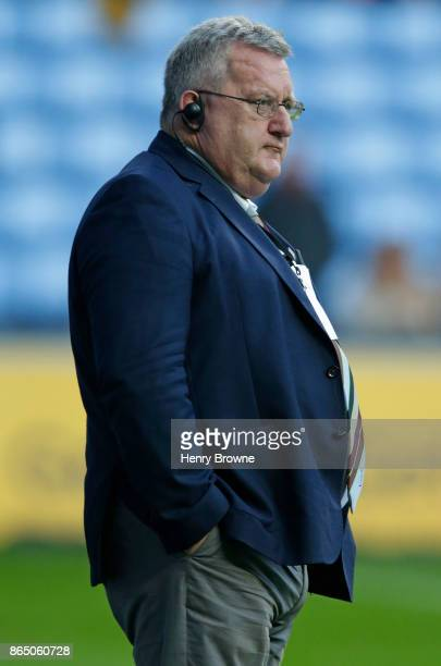 John Kingston Director of Rugby of Harlequins during the European Rugby Champions Cup match between Wasps and Harlequins at Ricoh Arena on October 22...