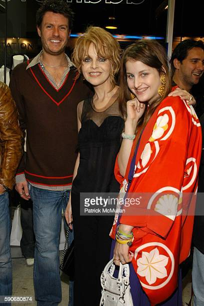 John Knoedler Claudia Cohen and Samantha Perelman attend Gran Centenario hosts the J Ransom instore event for adam eve at J Ransom Boutique on March...