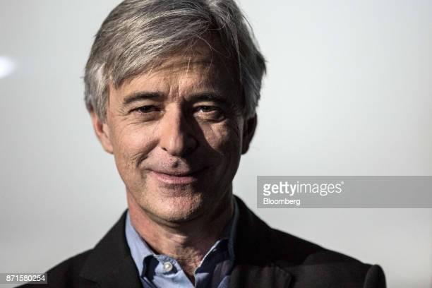 John Krafcik chief executive officer of Waymo LLC poses for a photograph at the Lisbon Web Summit in Lisbon Portugal on Tuesday Nov 7 2017 Portugal...