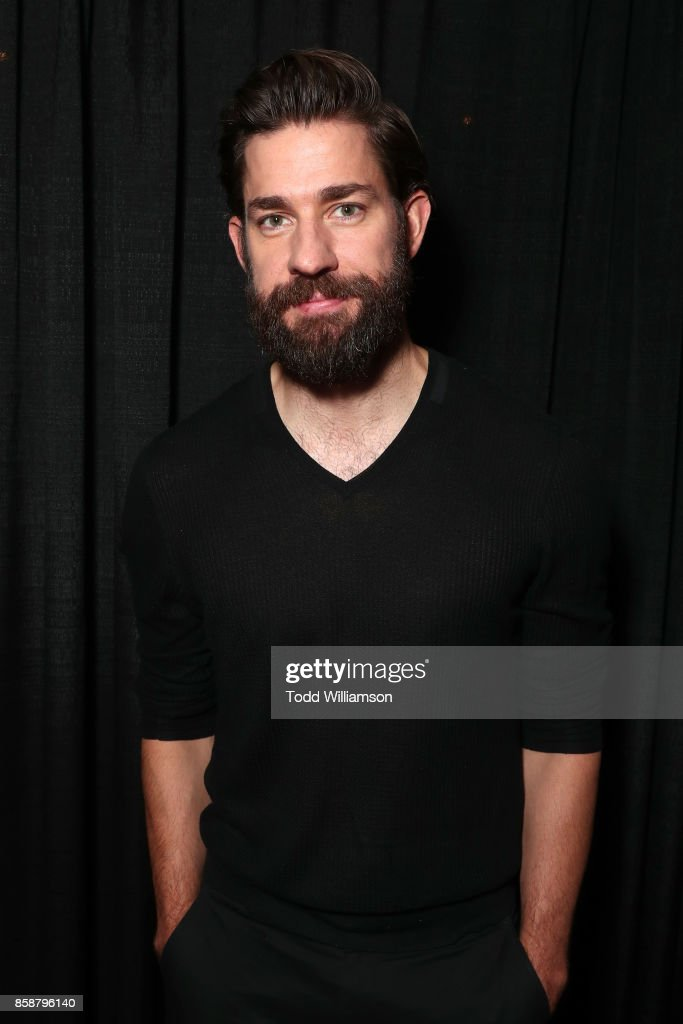 John Krasinsk attends Amazon Prime Video's Tom Clancy's Jack Ryan Comic Con 2017 - Panel at The Jacob K. Javits Convention Center on October 7, 2017 in New York City.