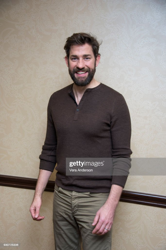 John Krasinski at 'A Quiet Place' Press Conference at the Omni Hotel on March 10, 2018 in Austin, Texas.