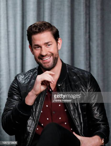 John Krasinski attends SAGAFTRA Foundation Conversations Career Retrospective at SAGAFTRA Foundation Screening Room on November 4 2018 in Los Angeles...