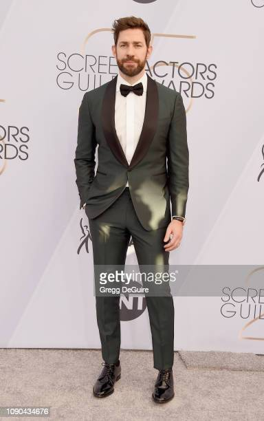 John Krasinski attends the 25th Annual Screen Actors Guild Awards at The Shrine Auditorium on January 27 2019 in Los Angeles California 480645