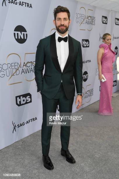 John Krasinski attends the 25th Annual Screen Actors Guild Awards at The Shrine Auditorium on January 27 2019 in Los Angeles California 480568