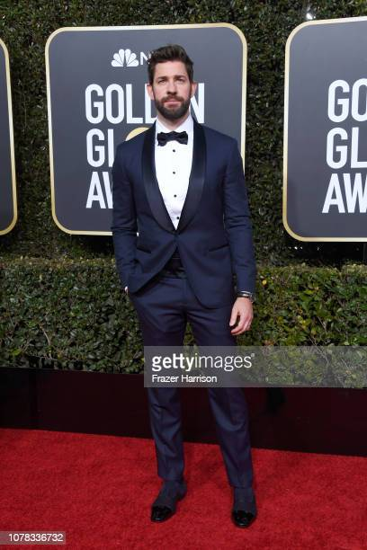 John Krasinski attends the 76th Annual Golden Globe Awards at The Beverly Hilton Hotel on January 6 2019 in Beverly Hills California
