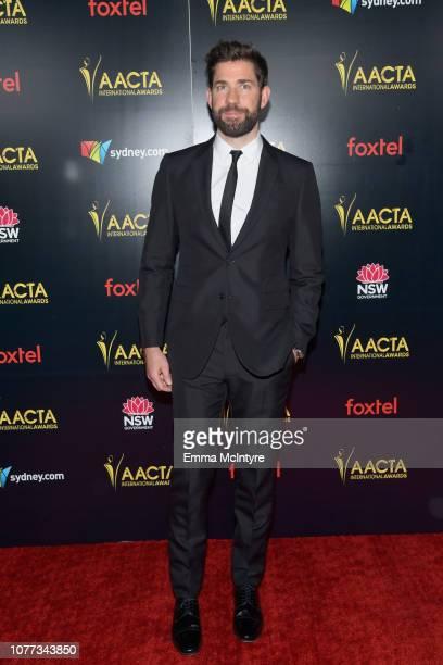 John Krasinski attends the 8th AACTA International Awards at Mondrian Los Angeles on January 4 2019 in West Hollywood California