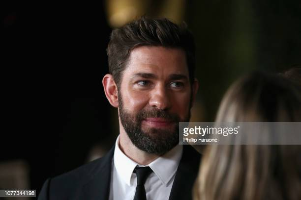 John Krasinski attends the 8th AACTA International Awards on January 4 2019 in Los Angeles California