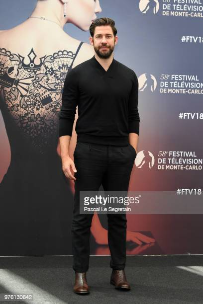 John Krasinski from the serie 'Tom Clancy's Jack Ryan' attends a photocall during the 58th Monte Carlo TV Festival on June 16 2018 in MonteCarlo...