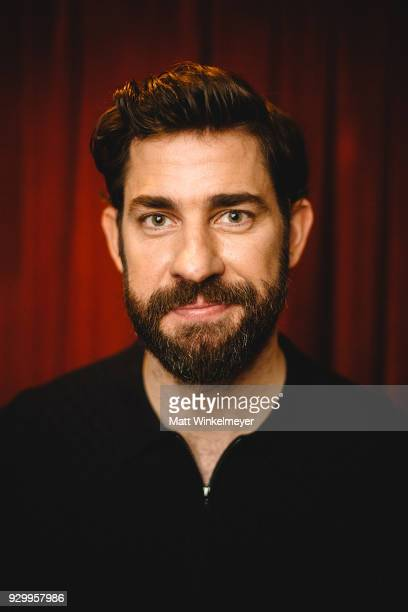 John Krasinski poses for a portrait at the 'A Quiet Place' Premiere 2018 SXSW Conference and Festivals at Paramount Theatre on March 9 2018 in Austin...