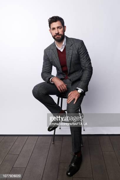 John Krasinski poses for a portrait at The BAFTA Tea Party on January 5 2019 in Beverly Hills California
