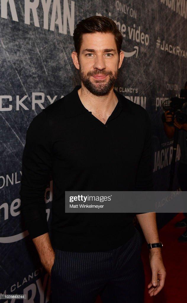 """Premiere Of """"Tom Clancy's Jack Ryan"""" At The Opening Night Of Los Angeles Fleet Week 2018 - Red Carpet"""
