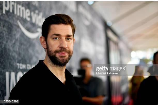 John Krasinski premiere of Tom Clancy's Jack Ryan at The Opening Night of Los Angeles Fleet Week 2018 at Battleship Iowa on August 31 2018 in San...