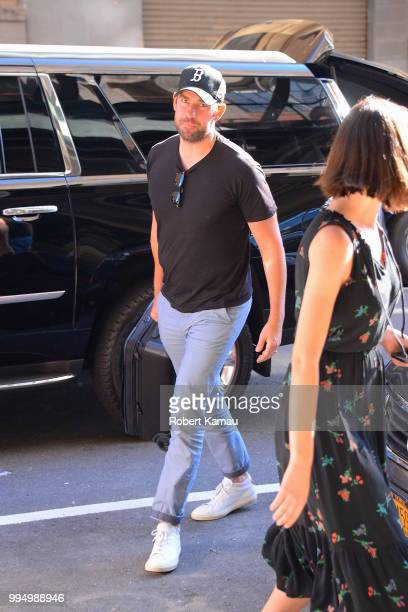 John Krasinski seen out and about in Manhattan on July 9 2018 in New York City