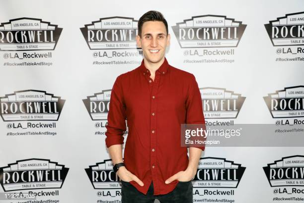 John Krause attends A Molly Jolly Christmas at Rockwell Table and Stage on December 05 2019 in Los Angeles California