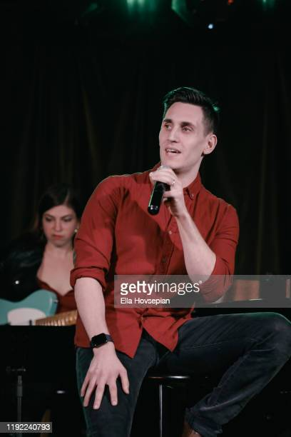 John Krause performs at Rockwell Table and Stage on December 05 2019 in Los Angeles California