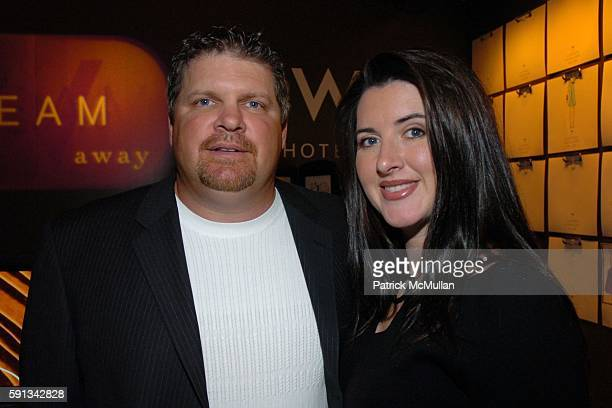 John Kruk and Melissa Kruk attend Heatherette Fall 2005 Fashion Show at The Plaza at Bryant Park on February 4 2005 in New York City