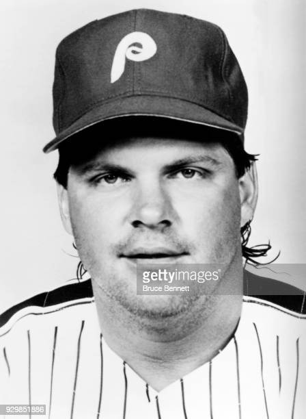 John Kruk of the Philadelphia Phillies poses for a portrait during Spring Training circa March 1992 in Clearwater Florida