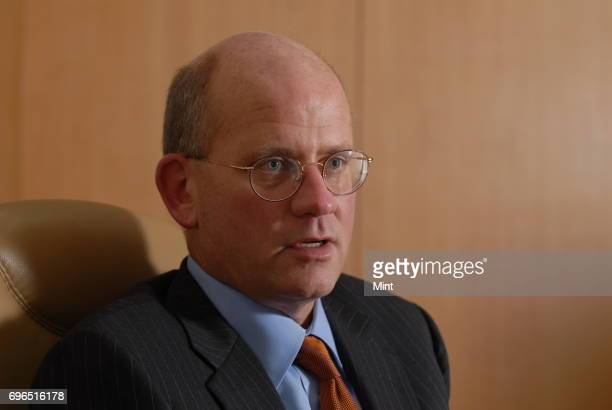 John L Flannery President and CEO of GE India photographed during an interview with Mint