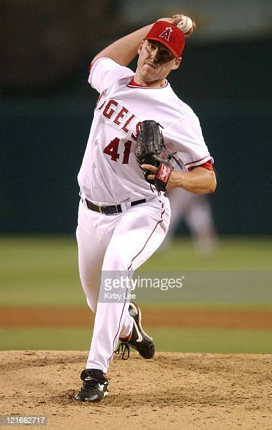 John Lackey of the Anaheim Angels The Angels defeated the Tigers 31