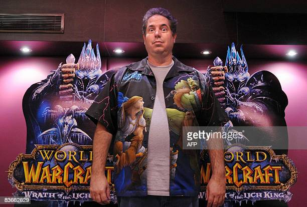 John Lagrave, senior producer of top video game maker Activision Blizzard poses on November 12, 2008 in Paris, a few hours ahead of the launch of a...
