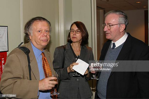 John Lahr and attend A Centennial Celebration for Harold Arlen at The Museum of Television and Radio on October 17 2005 in New York City