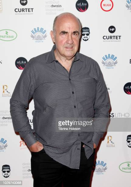 John Laing attends The 25th Frame solo exhibition by Patrick Curtet on September 8 2018 in Los Angeles California
