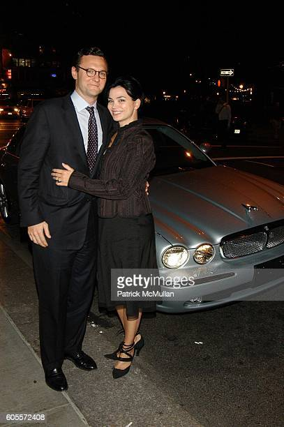 John Lambros and Karen Duffy attend Jay McInerney celebrates The Good Life at Eleven Madison Park NYC on May 10 2006 in New York City