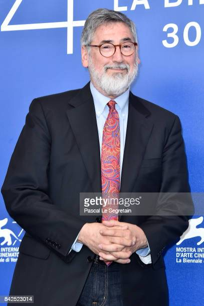 John Landis attends Michael Jackson's Thriller 3D And Making Of Michael Jackson's Thriller 3D photocall during the 74th Venice Film Festival at Sala...